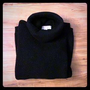 Michael Kors Black knit turtle neck sweater